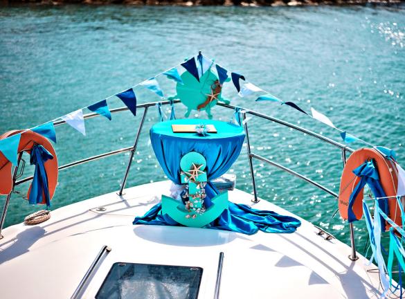 Свадьба на яхте с Рыбалкофф