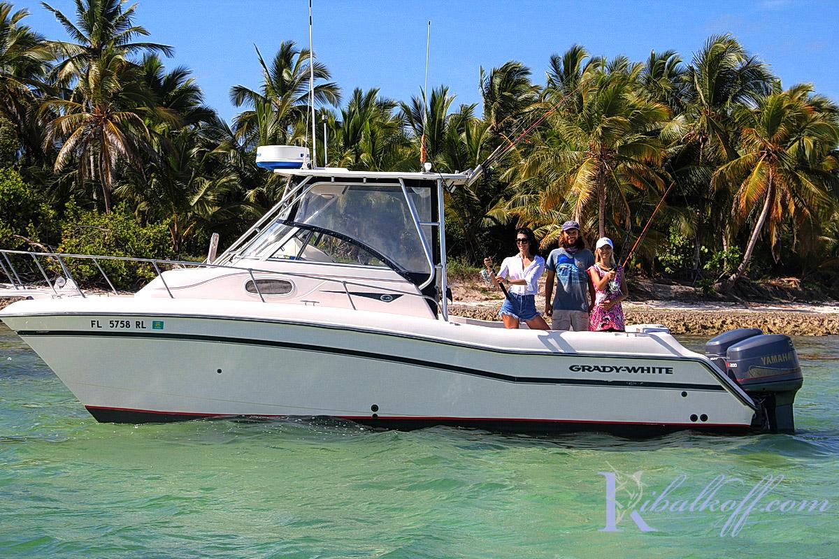 katamaran grady white dlya donnoy rybalki v Punta Cana