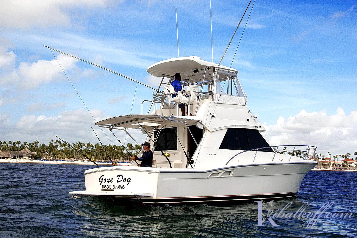 новая яхта для рыбалки в доминикане