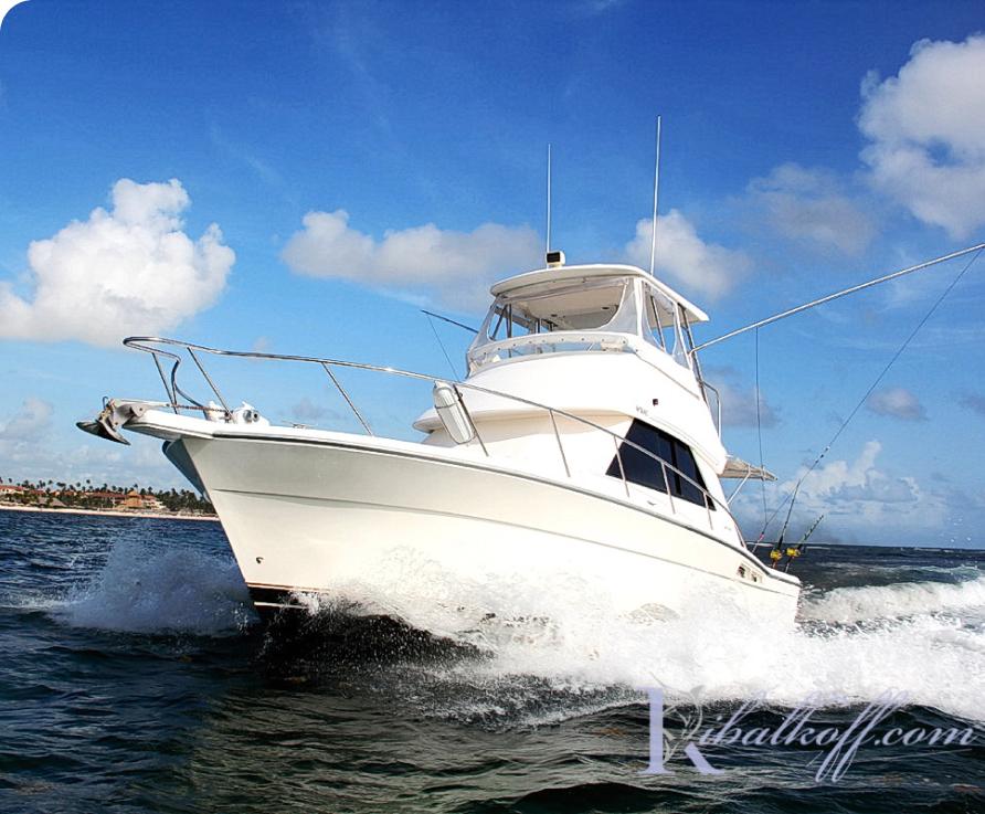 яхта для рыбалки и аренды в Доминикане