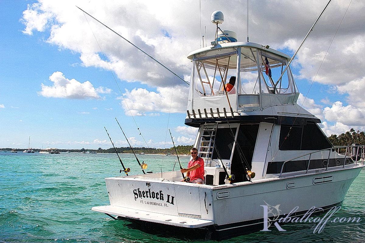 Шерлок катер для рыбалки в Пунта Кана