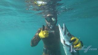 Подводная охота улов